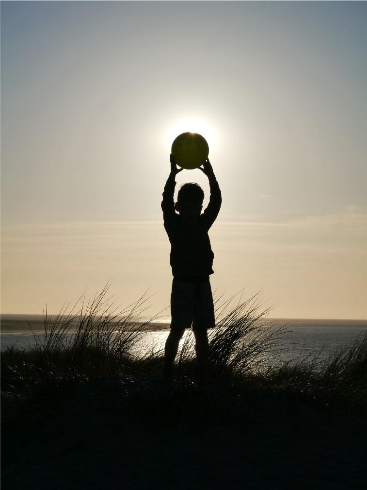 Der Ball unseres Lebens - Die Sonne
