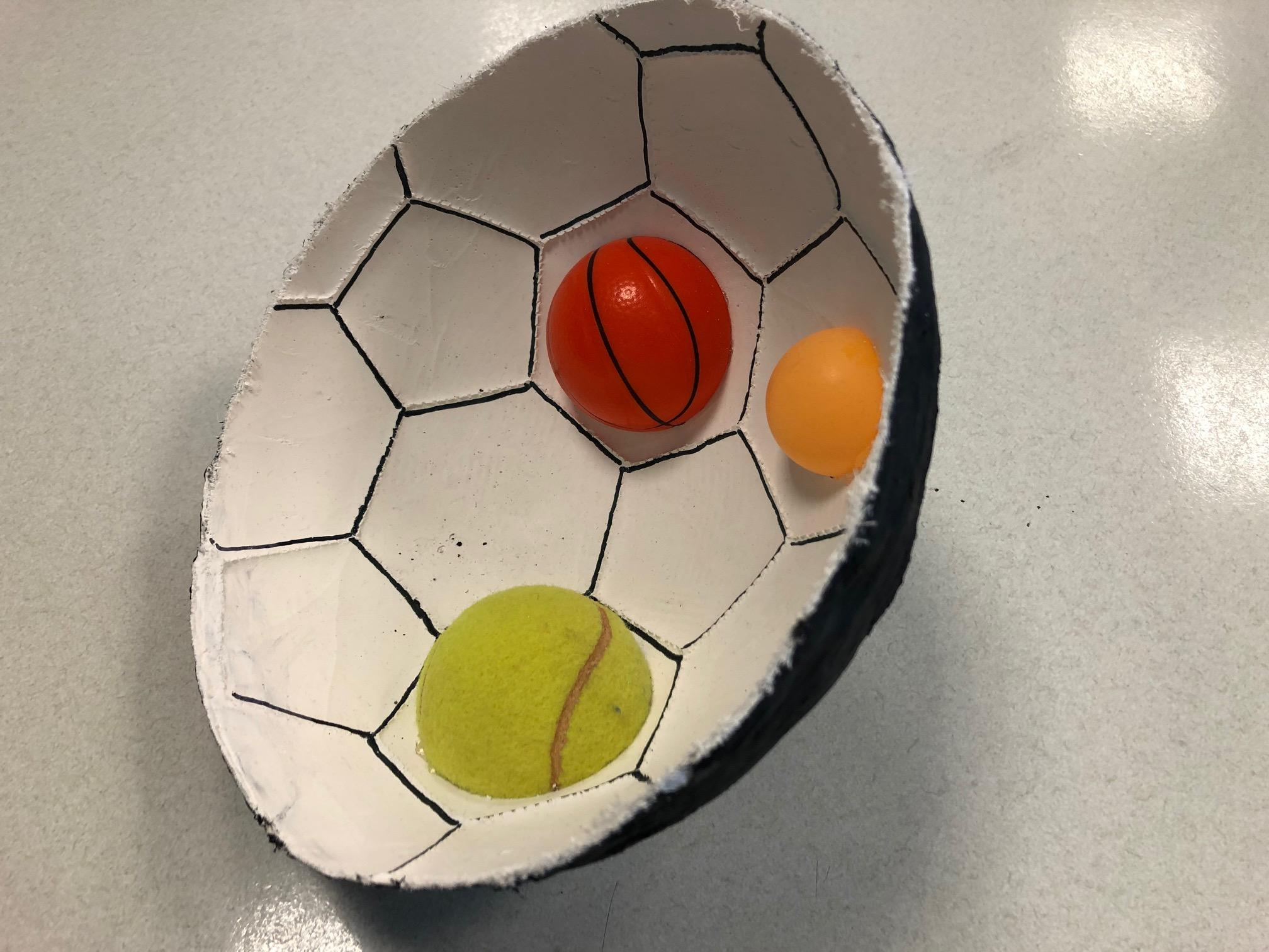Kunst im Ball!