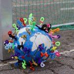Fußball rund um die Welt vs. Coronavirus