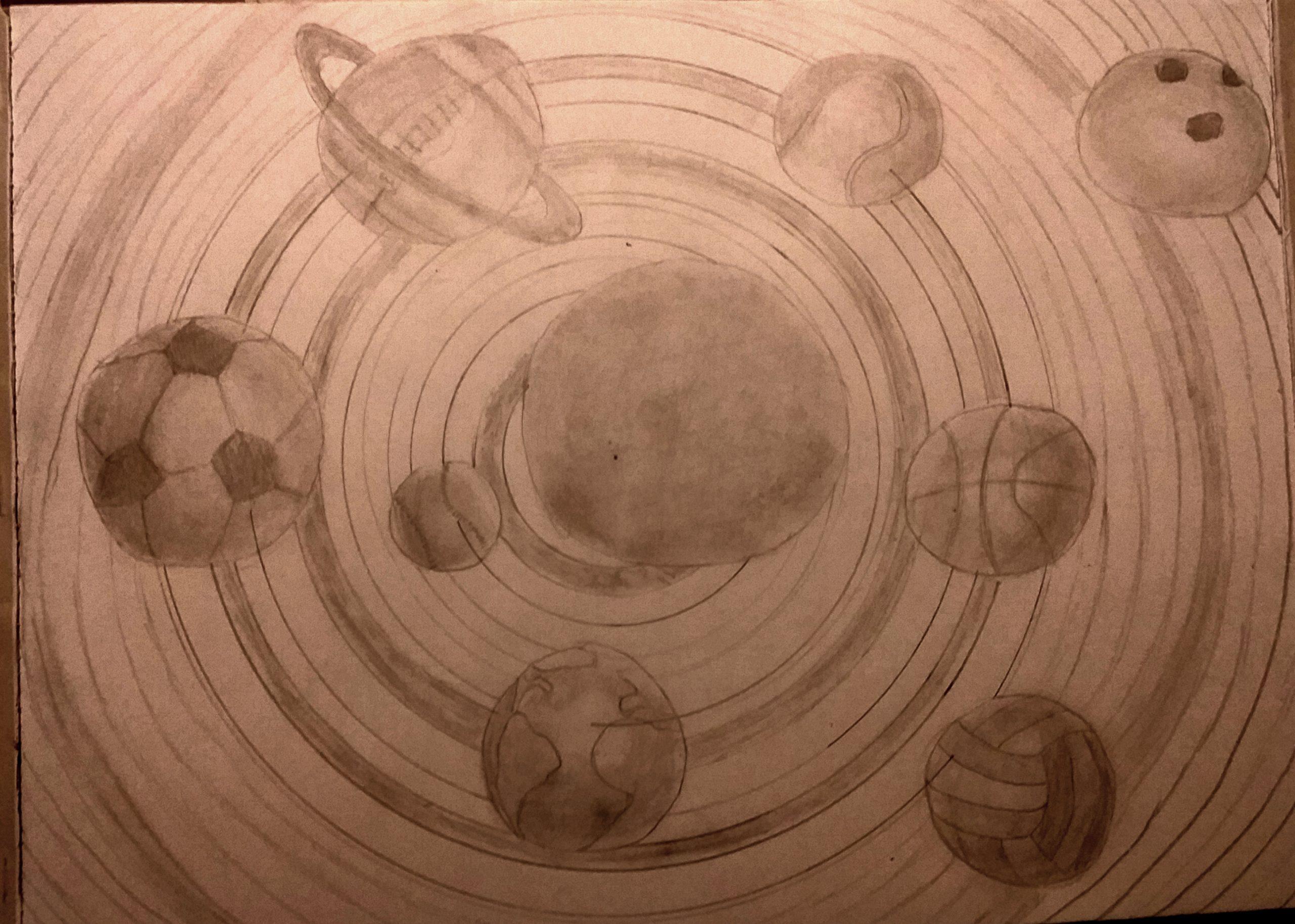 Planetensystem der Sportarten