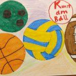 Zeichnung Ballsportarten