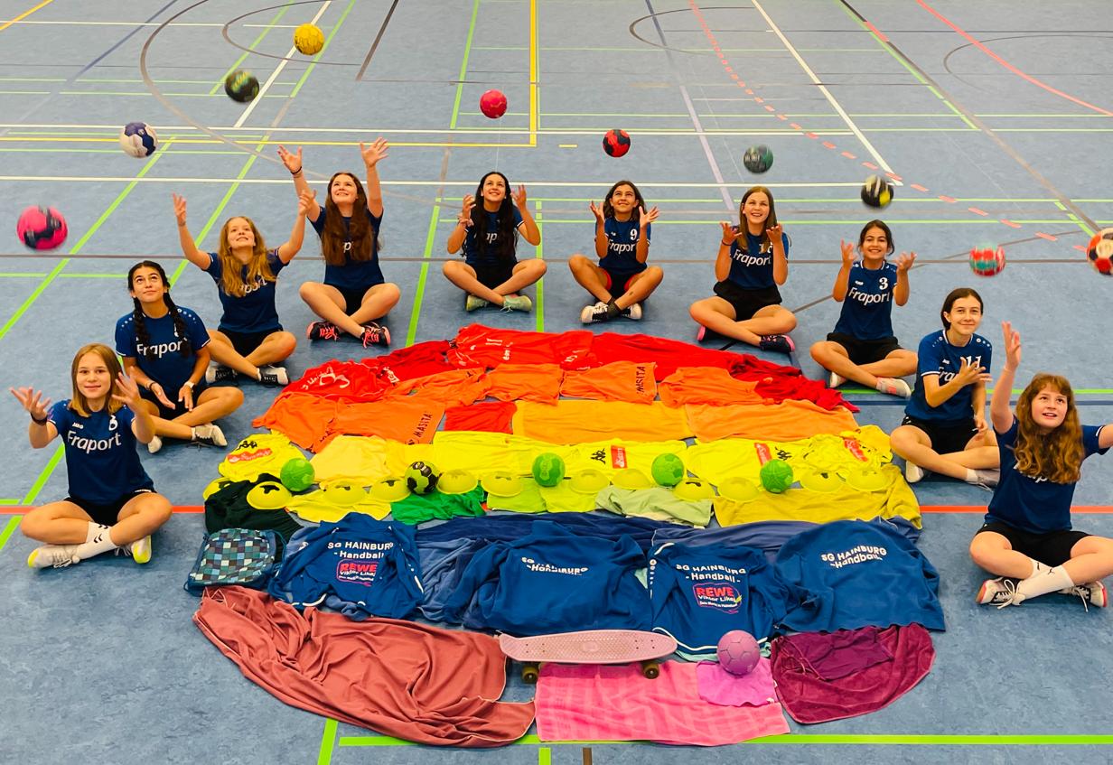 Weibliche C-Jugend SG Hainburg